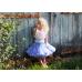 荷蘭精品Dolly 愛麗絲公主雪紡蓬裙.澎裙.紗裙.短裙-粉嫩藍