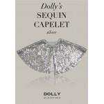 荷蘭精品Dolly典雅名媛亮片小披肩-閃亮銀