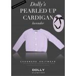 荷蘭精品Dolly頂級喀什米爾羊毛小外套-薰衣草紫