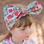 澳洲Oobi森林童趣蝴蝶結頭巾