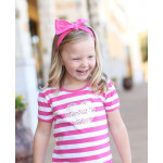 美國RuffleButts Candy Stretch 糖果甜心彈性蝴蝶結髮帶