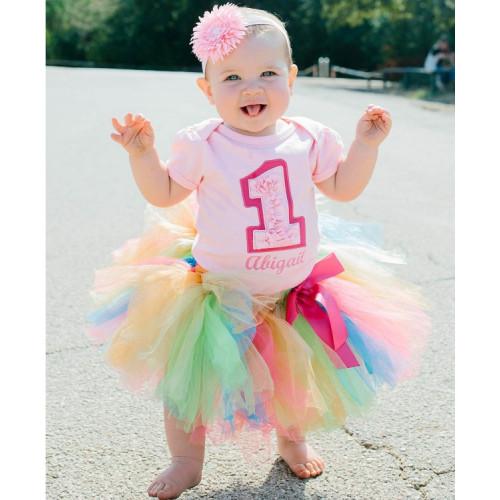 美國RuffleButts 甜心寶貝Sweet Birthday生日套裝(周歲派對好幫手)