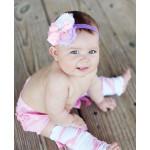 美國RuffleButts Lavender Sophia 薰衣草甜心小女童髮帶