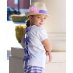 美國RuffleButts 最新款Lulu Fedora 女童巴哈馬帽~島嶼度假風~