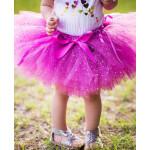 美國RuffleButts超夢幻寶貝大蓬蓬裙 閃耀紫