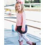 美國RuffleButts 冬季暖暖女童褲襪 粉彩點點